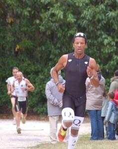 David Padaré est aussi un sportif et un triathlète confirmé. © Running-et-trail.net