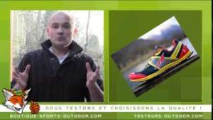 Jean Marc dans une vidéo où il présente l'actualité sur les chaussures de running. © Running-et-trail.net