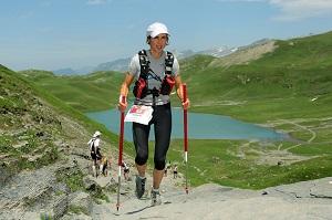 Caroline Chaverot utilisera-t-elle des bâtons lors de la prochaine Maxi Race ? © Facebook
