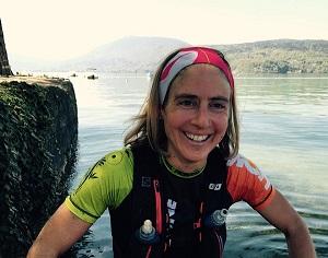Caroline Chaverot a le sourire pour sa préparation finale à la Maxi Race.. © Facebook