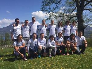 L'équipe de France pour les prochains mondiaux de trail qui auront lieu lors de la Maxi Race. © Endurance Mag