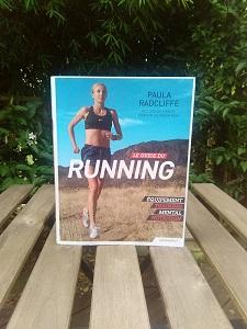 Voilà la couverture du guide du running avec Paula Radcliffe. © Running-et-trail.net