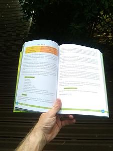 Voici un exemple de pages intérieures pour ce livre trail running. © Running et Trail