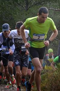 Conseils trails : Benoît qui amène un peloton de coureurs. © Michel Arnaud