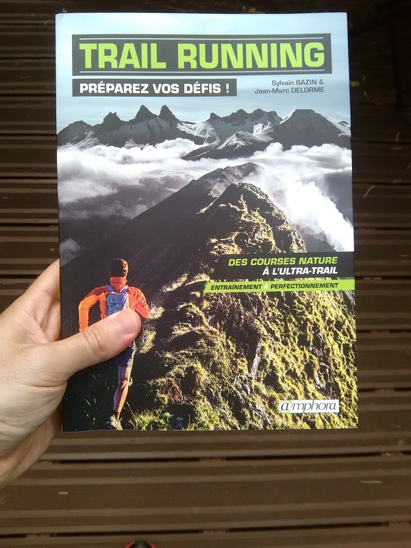 couverture livre trail running