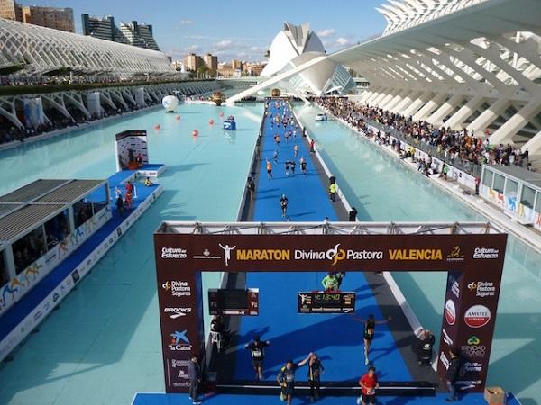 arrivée marathon de Valence