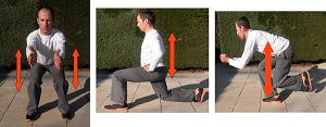 Exercices renforcement musculaire avec squat
