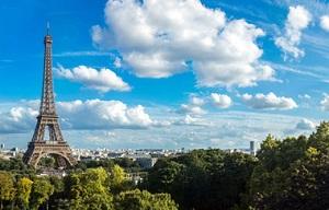 La tour Eiffel à Paris
